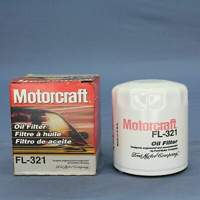 New Motorcraft FL-321 Spin-on Engine Oil Filter Replacement