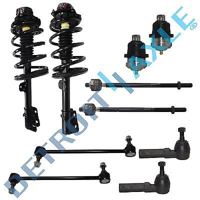 Caravan Voyager Town & Country 10pc Complete Front Strut Set & Suspension Kit