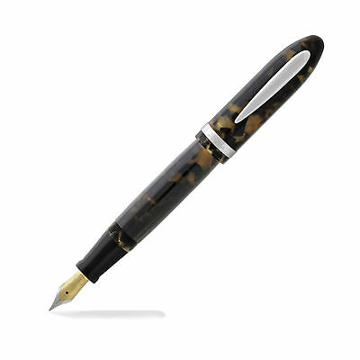 Laban Mento - Fountain Pen - Tortoise Shell - Medium Point  NEW (LRN-F988TS)-