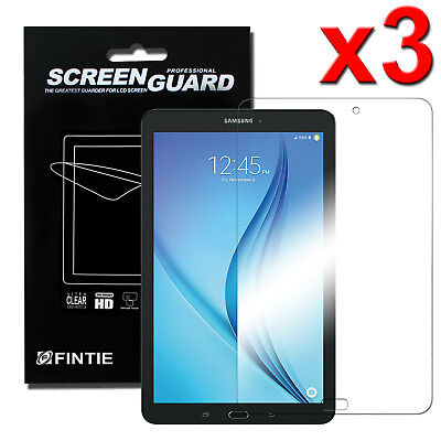 Tablet Screen Protector - 3x Clear Screen Protector for Samsung Galaxy Tab E 9.6 / 8.0 / E Lite 7.0 Tablet