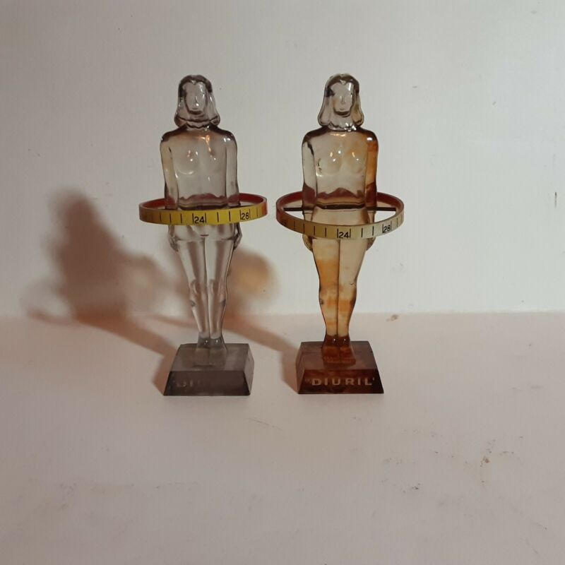 Vintage Salesman Sample Merck Figurines-1958