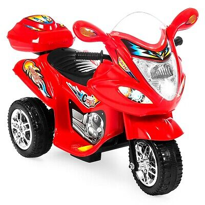 Best Choice Products 6V Kids Battery Powered 3-Wheel Motorcycle Ride On Toy w/