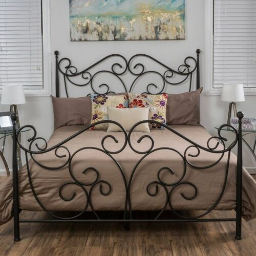 Horatio Queen Size Iron Bed Beds & Bed Frames