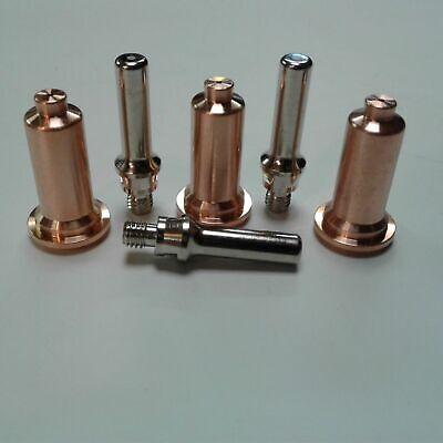 6pc Long Shielded Consumable Kit Everlast 5060s 52i 62i Plasma Cutter Ipt Torch
