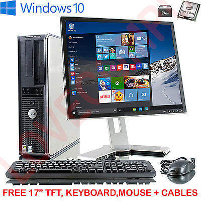 ULTRA FAST COMPUTER PC INTEL QUAD CORE 1TB 8GB WINDOWS 10 CHEAP...