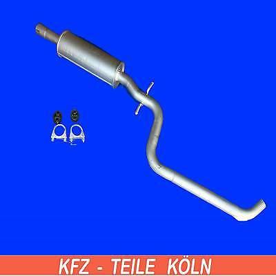 Mittelschalldämpfer Seat Altea Leon 1.6 16V 06.05-10.06 Auspuff