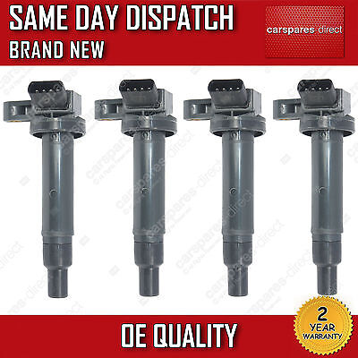 4x LEXUS SC 430 4.3 2001>ON 4-SET-PACK-IGNITION COIL PENCIL 90919-02230 NEW