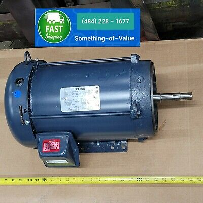 Leeson Electric Motor 199781.00 10 Hp 3500 Rpm 3-ph 230 Volt 215jm Frame New