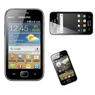 NEW Samsung Galaxy Ace Black S5830i 3G Simfree Unlocked Android Smartphone