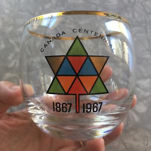 1967 Canada Centennial glass
