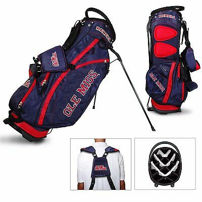 New Ole Miss University of Mississippi NCAA Collegiate Golf Stand Bag  -