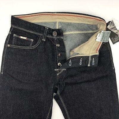 Dark Lab (Pal Zileri Lab Mens Dark Wash *Japanese Kurabo Cotton* Jeans Size)
