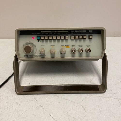 GW Instek Function Generator GFG-8015G Tested and Working