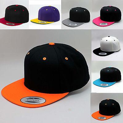2-tone Baseball Cap (FLEXFIT ® ORIGINAL BASEBALL CAP SNAPBACK -YUPOONG  2-Tone Era Blank -KOSTENLOS)