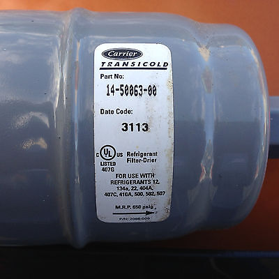 Carrier Transicold Refrigerant Filter-drier Part 14-50063-00 Thermoking 664729