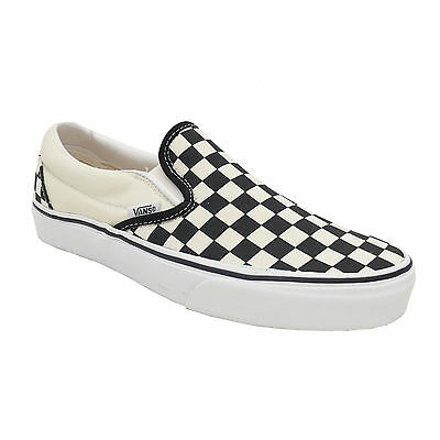 VANS Classic Slip On Checkerboard black white EYEBWW schwarz wei� Slipper Schuhe