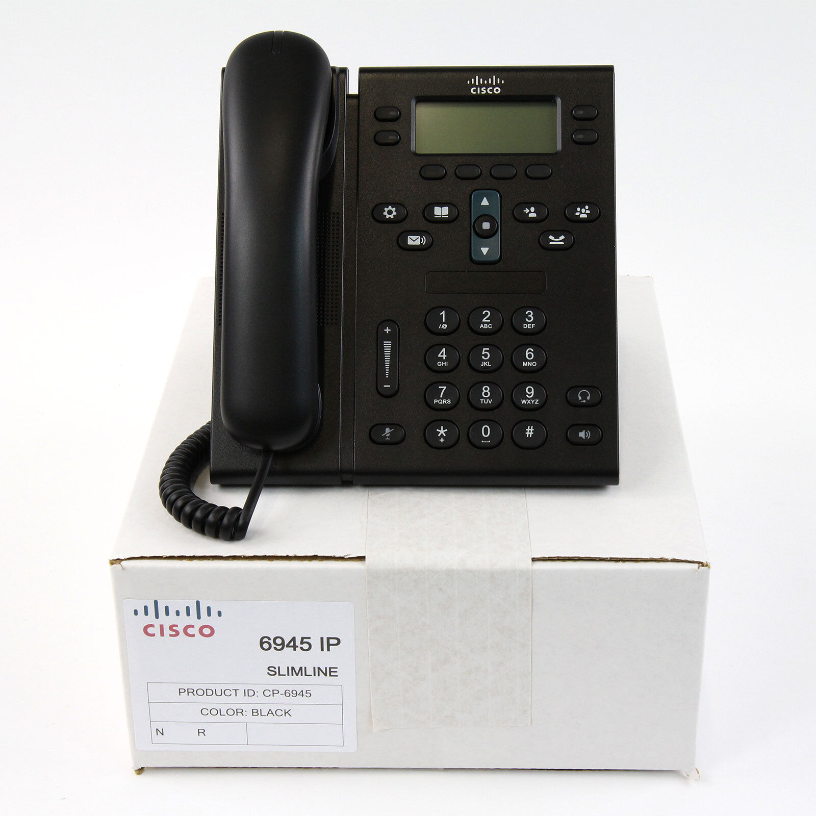 Cisco 6945 CP-6945 4-Line Unified IP VoIP Office Phone CP-6945-C-K9 BASE ONLY