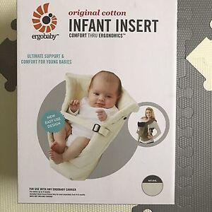 Original ergo (organic fabric) with infant insert