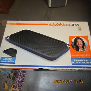 Rachael Ray Cast Iron Reversible Griddle/Grill