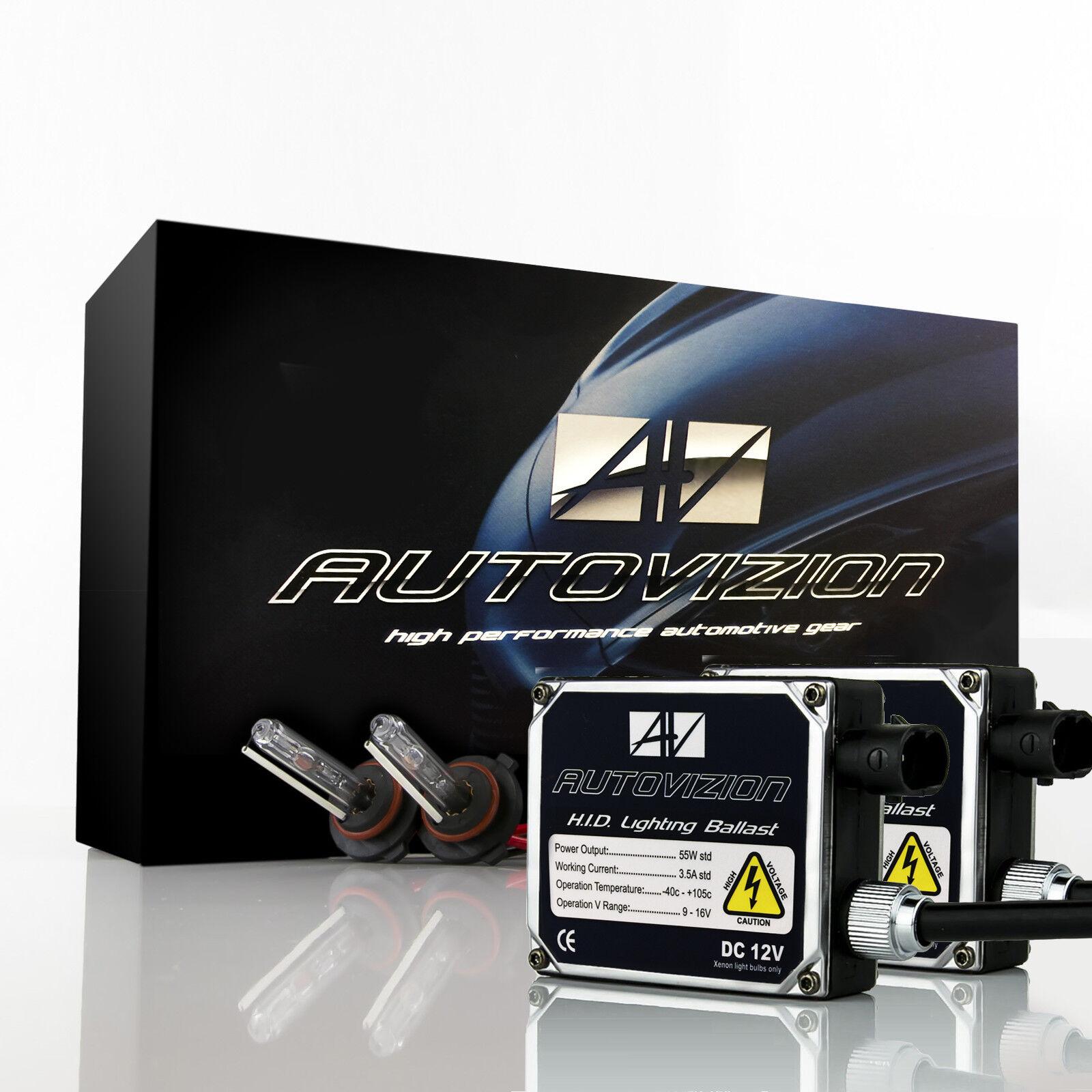 Autovizion 55W Xenon Lights HID Kit for Volkswagen Saveiro Tiguan Touareg Vento