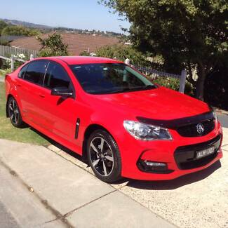 2016 SV6 Redhot Holden Commodore Sedan