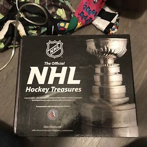 The official NHL hockey treasures book