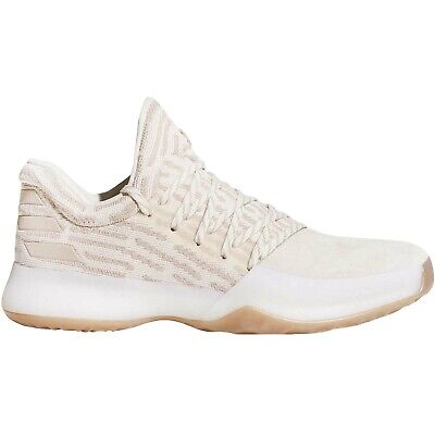 adidas Performance Men's Harden Vol 1 PK Basketball Shoes Trainers - Chalk White