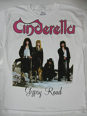 Cinderella -  Long Cold Winter Tour White T-shirt