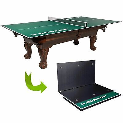 Table Tennis Conversion Top Foldable Clamp Style Net Training Home Indoor Sport