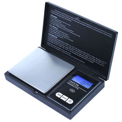 200g x 0.01g Digital Pocket Scale - High Precision and Portable CS-200