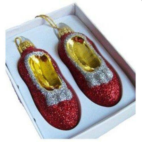 Christmas Pride Ruby Slipper Ornaments