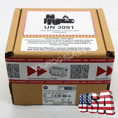 2019 New Allen-bradley 1763-l16dwd Micrologix 1100 16 Point Controller Module Us