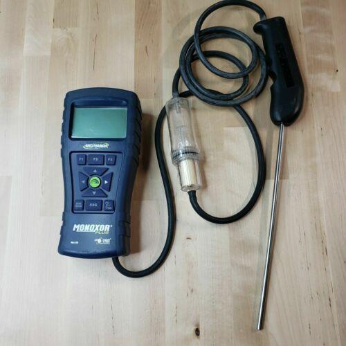 Bacharach Monoxor Plus CO Analyzer with probe
