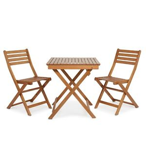 Wooden Bistro Set Ebay  sc 1 st  Migrant Resource Network & Outdoor Wood Bistro Table Set | Migrant Resource Network