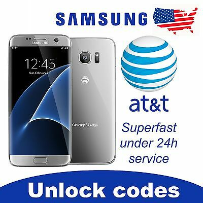 UNLOCK SERVICE/CODE AT&T ATT SAMSUNG GALAXY S6 S7 S8 S9 + PLUS NOTE 8 CLEAN IMEI