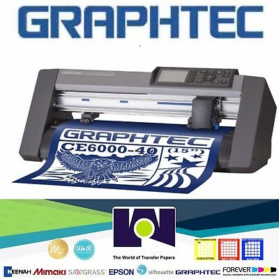 Graphtec Ce6000-40 Plus 15 Cutter Free Shipping