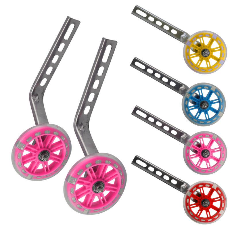 "Kids Bicycle Training Wheels Bike Stabilisers Safety 12-20/"" I bf"