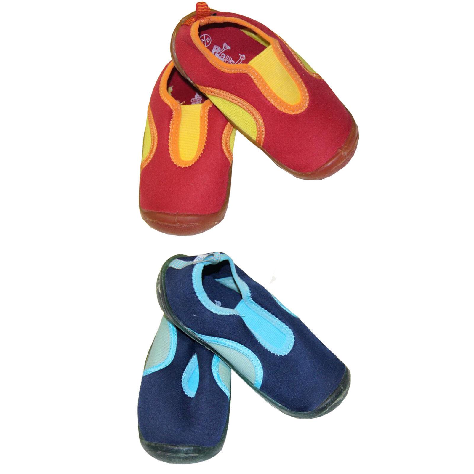 Kinder Badeschuhe Strandschuhe Surfsschuhe Aquaschuhe Rutschfest Blau