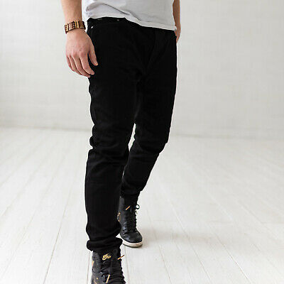 Michael Kors Kent Skinny fit Herren Schwarz Jeans W38 L32