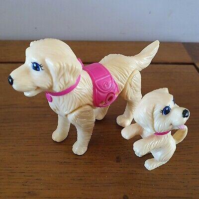 Mattel Barbie Pets Strollin Pups Taffy & Puppy Dog 2010