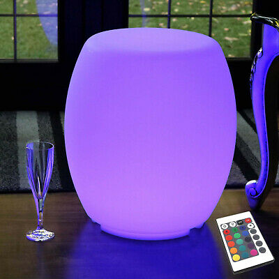 Cordless LED Seat Lamp, Light Up Rechargeable Floor Furniture Table by PK Green