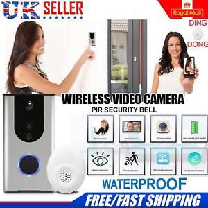 Wireless Doorbell Camera WiFi Remote Video Door Intercom IR Security Bell Phone  sc 1 st  eBay & Video Door Bell | eBay pezcame.com