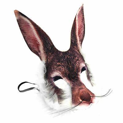 Adult Kids Easter Bugs White Bunny Rabbit Wonderland Fancy Dress Peter Eye (Bugs Bunny Maske)