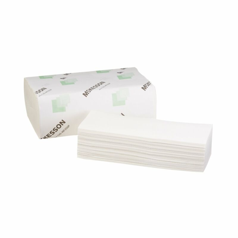 McKesson Premium Multi-Fold Paper Towel 165-MF250P 16 Pack(s) 250 Towels/ Pack