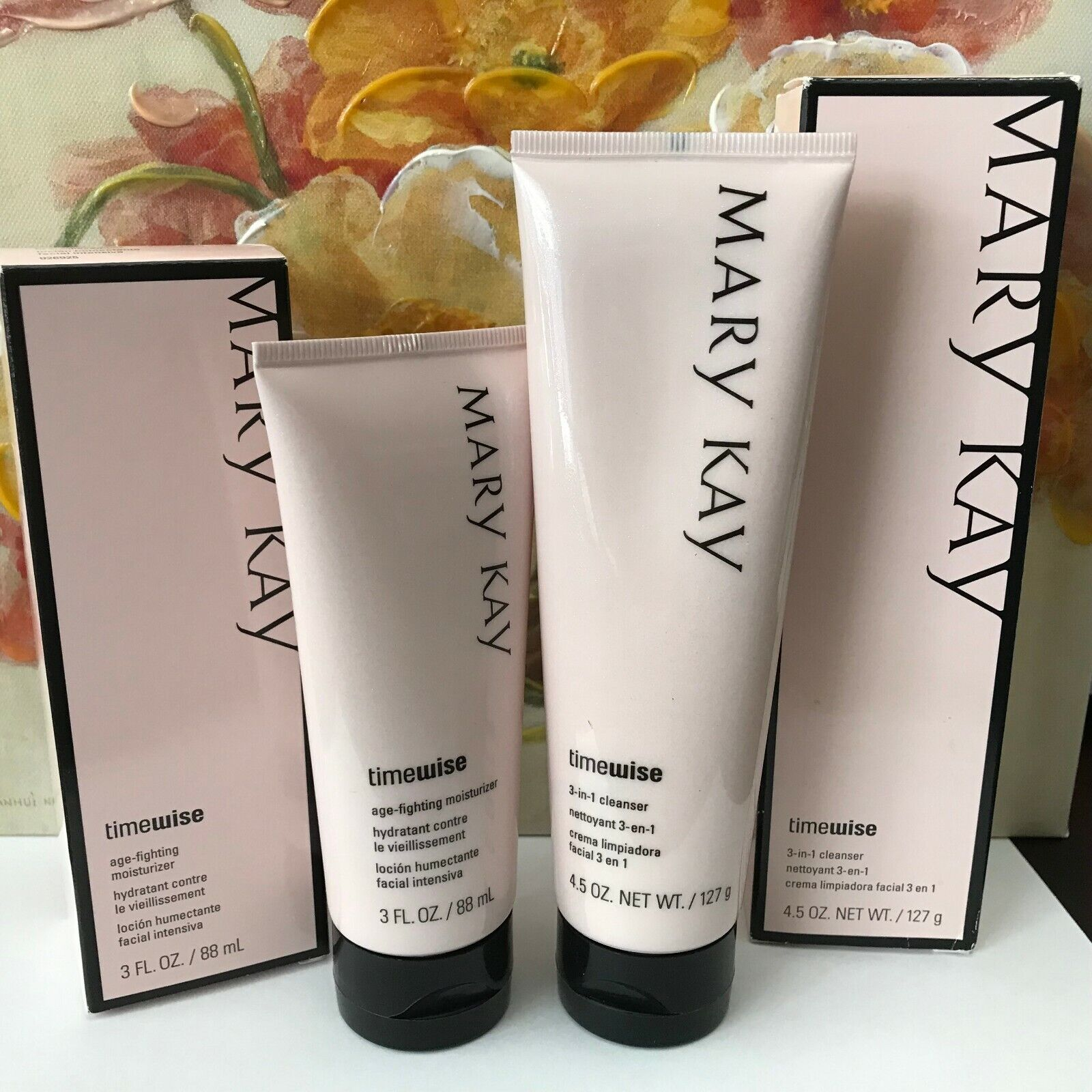 Mary Kay Timewise Moisturizer Cleanser Set~Normal Dry or Com