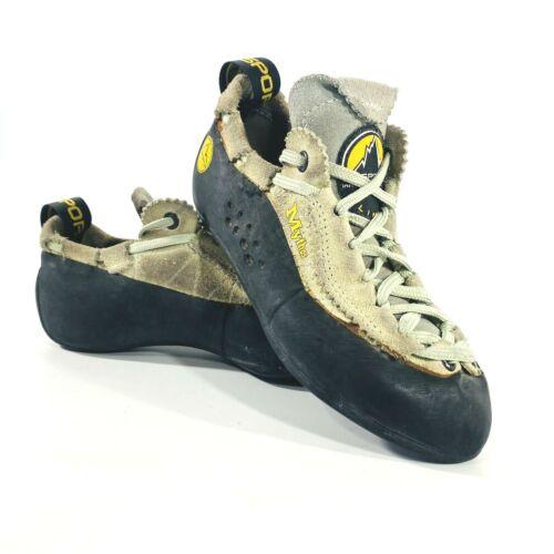 La Sportiva Mythos Big Kids Climbing Bouldering Shoes USM 3 EU 34.5 Made Italy