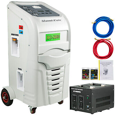 R-134a Recover Recycle Recharge Machine R-12 2l Pump Recycling Recyclers