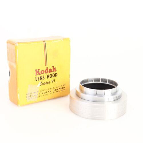 * Kodak Series VI Lens Hood and Adapter Ring w/ Original Box