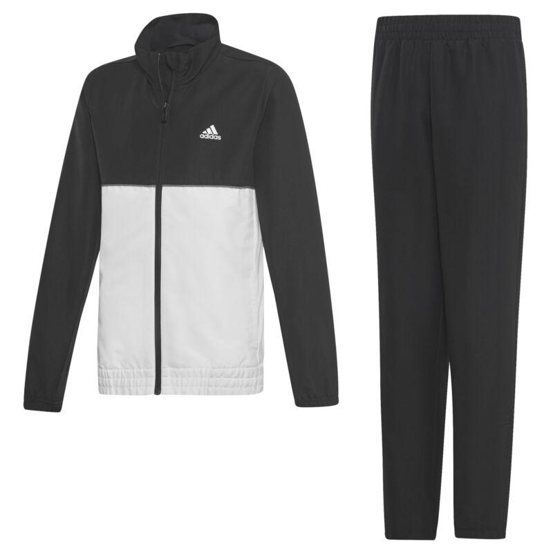Adidas Club Black White Boys Tennis Track Suit