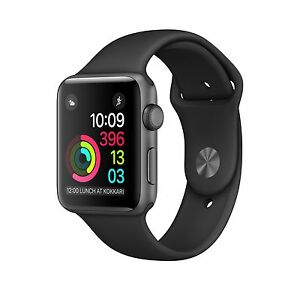Brand new sealed space gray 38mm Apple watch series 1